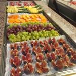 Frisches Obst am Buffet