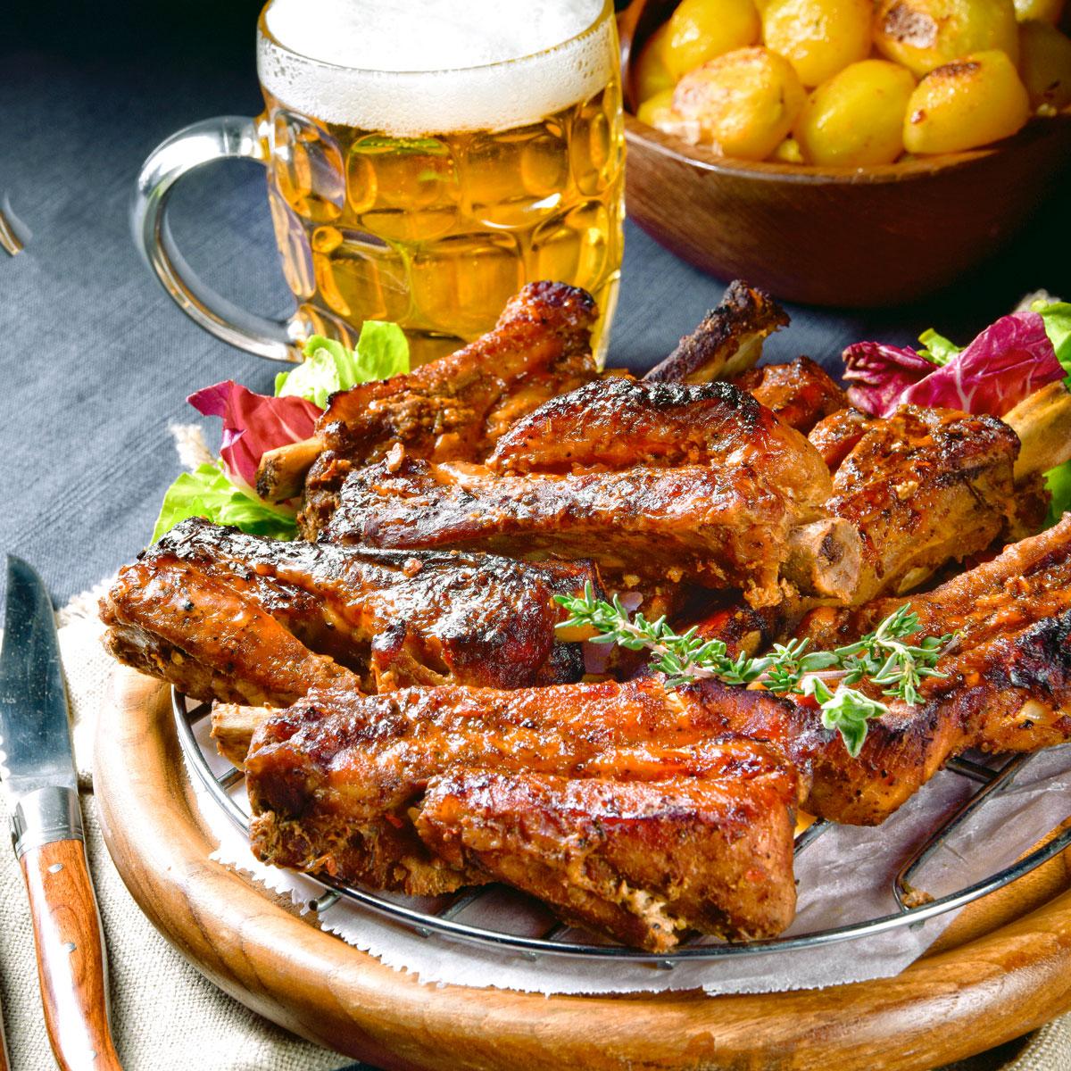 Spareribs-Party-Restaurant-Schwarzes-Ross